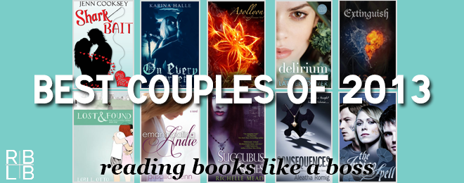Best Book Couples of 2013 – Reading Books Like a Boss Edition