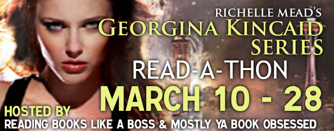 Sign up for the Georgina Kincaid Read-A-Thon — March 10th – 28th