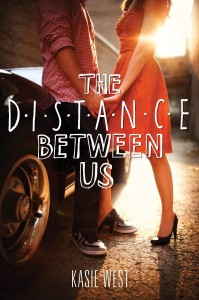 The Distance between us by Kasie West cover