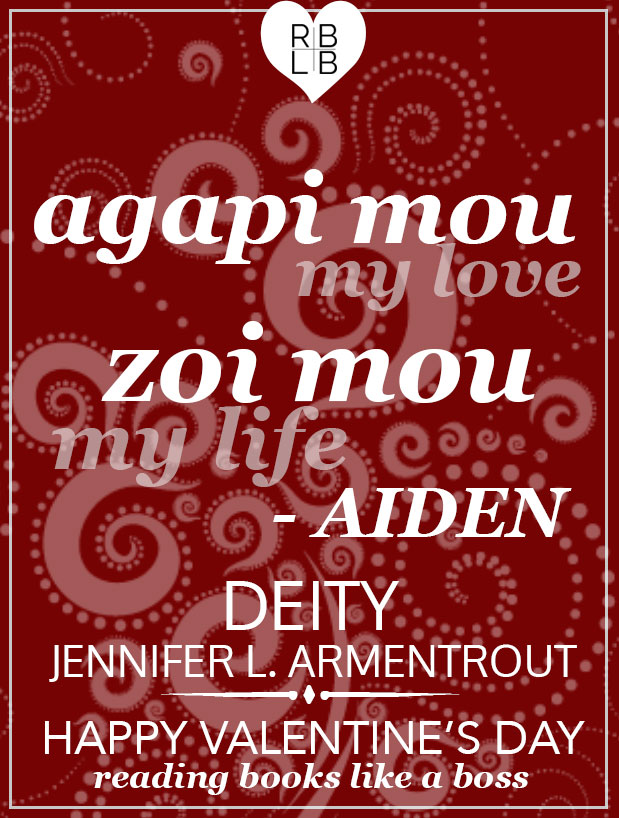 Deity by Jennifer L. Armentrout Valentine