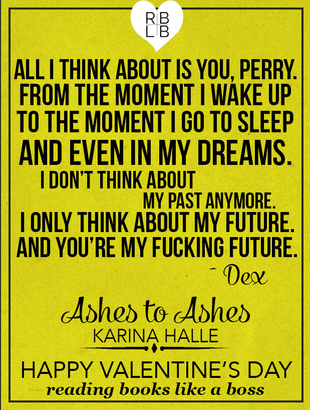 Ashes to Ashes by Karina Halle - Valentine