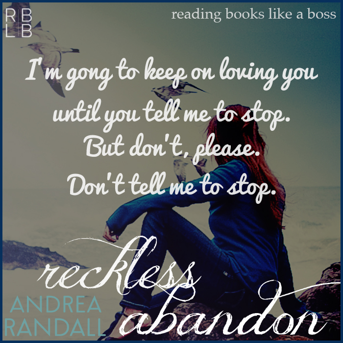 Review — Reckless Abandon by Andrea Randall