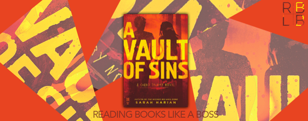Cover Reveal — A Vault of Sins by Sarah Harian