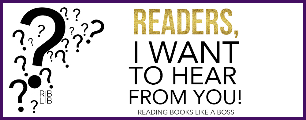 Reader Poll:  What do you like to read on book blogs?
