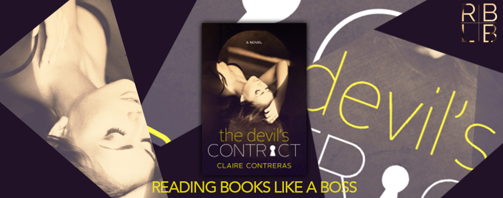 Cover Reveal & Excerpt — The Devil's Contract by Claire Contreras