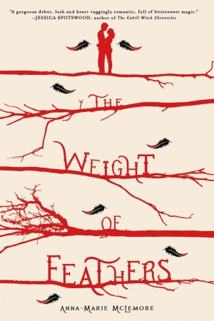 Book Review – The Weight of Feathers by Anna-Marie McLemore