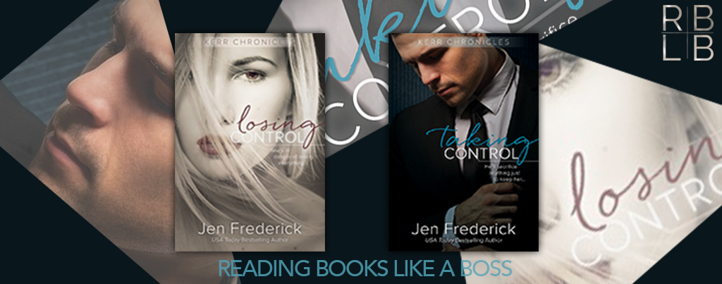 Double Cover Reveal — Losing Control & Taking Control by Jen Frederick