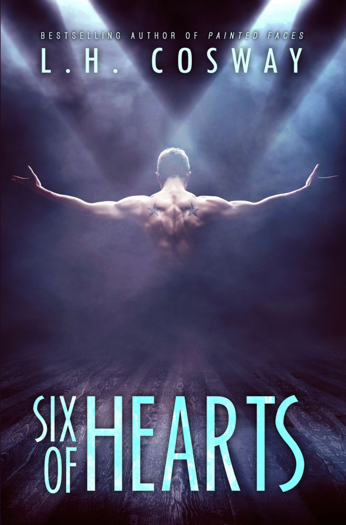 Cover Reveal — Six of Hearts by L.H. Cosway