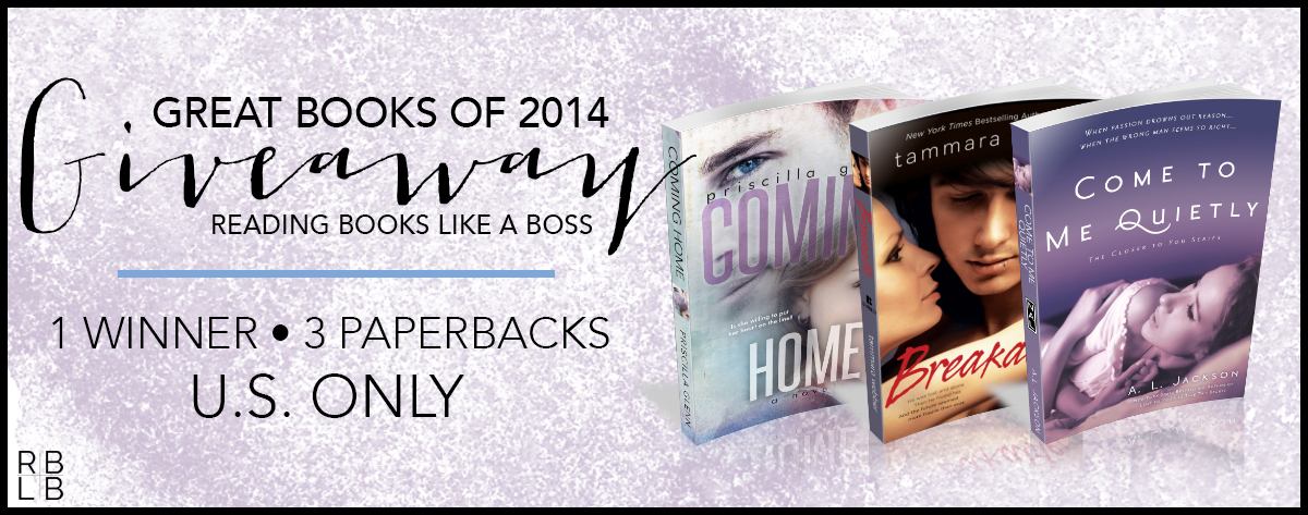 Great Books of 2014 Giveaway!