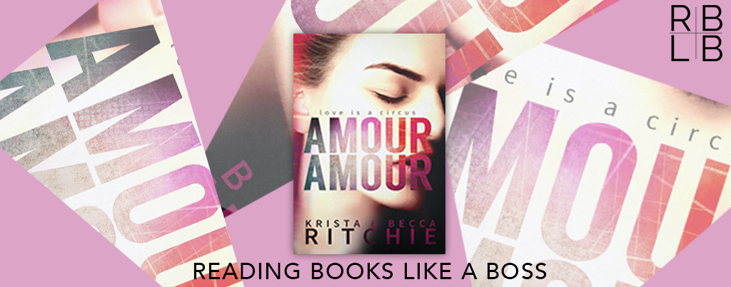Cover Reveal — Amour Amour by Krista and Becca Ritchie
