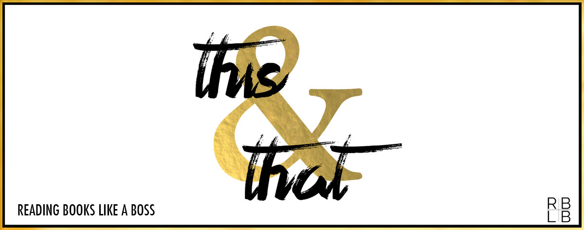 This and That #5 — The Hook Up by Kristen Callihan and When Joss Met Matt by Ellie Cahill
