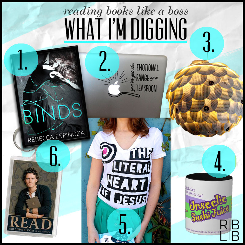 What I'm Digging #15 — Binds by Rebecca Espinoza