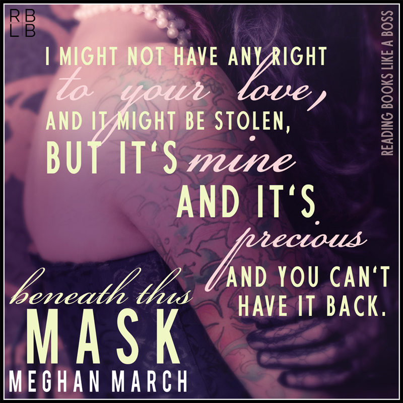 Book Review — Beneath This Mask by Meghan March