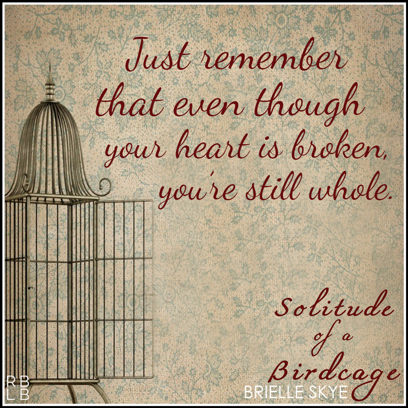 Solitude of a Birdcage by Brielle Skye