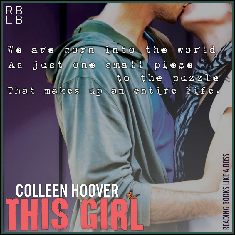 Book Review — This Girl by Colleen Hoover