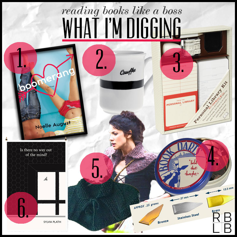 What I'm Digging #22 — Boomerang by Noelle August