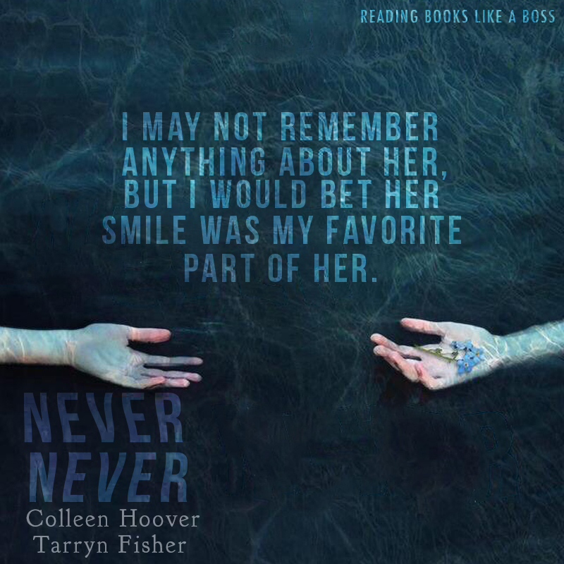 Never Never Part One by Colleen Hoover and Tarryn Fisher