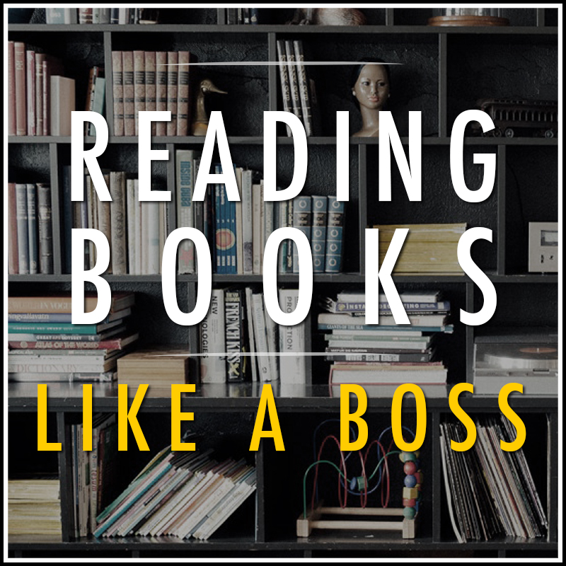 Reading Books Like a Boss Logo