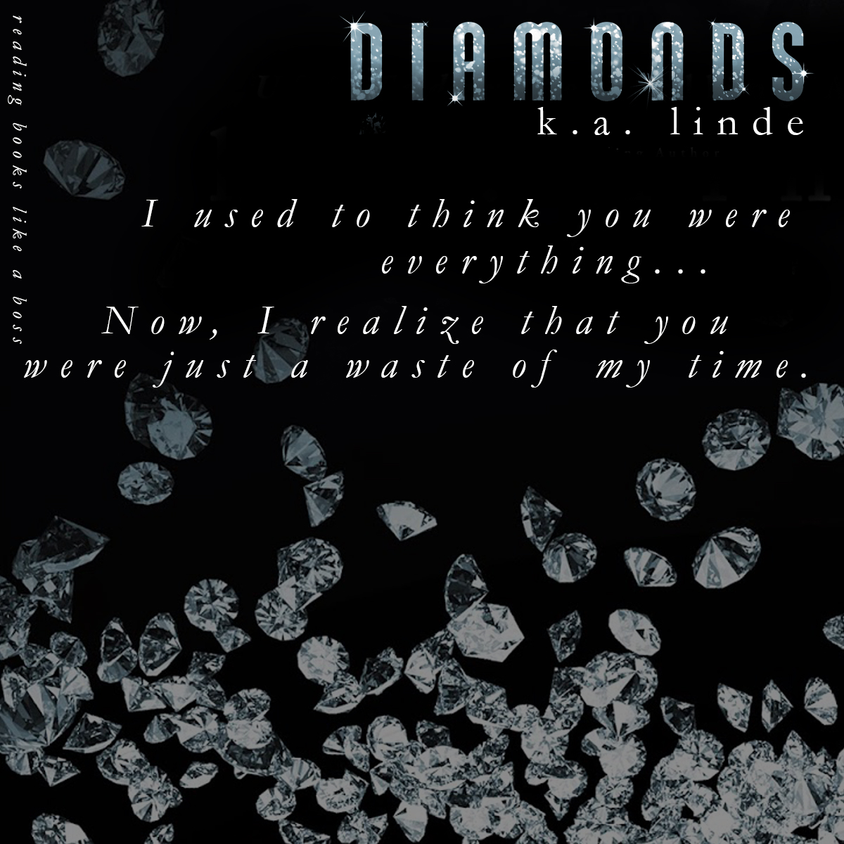 Diamonds (All that Glitters #2) by K.A. Linde