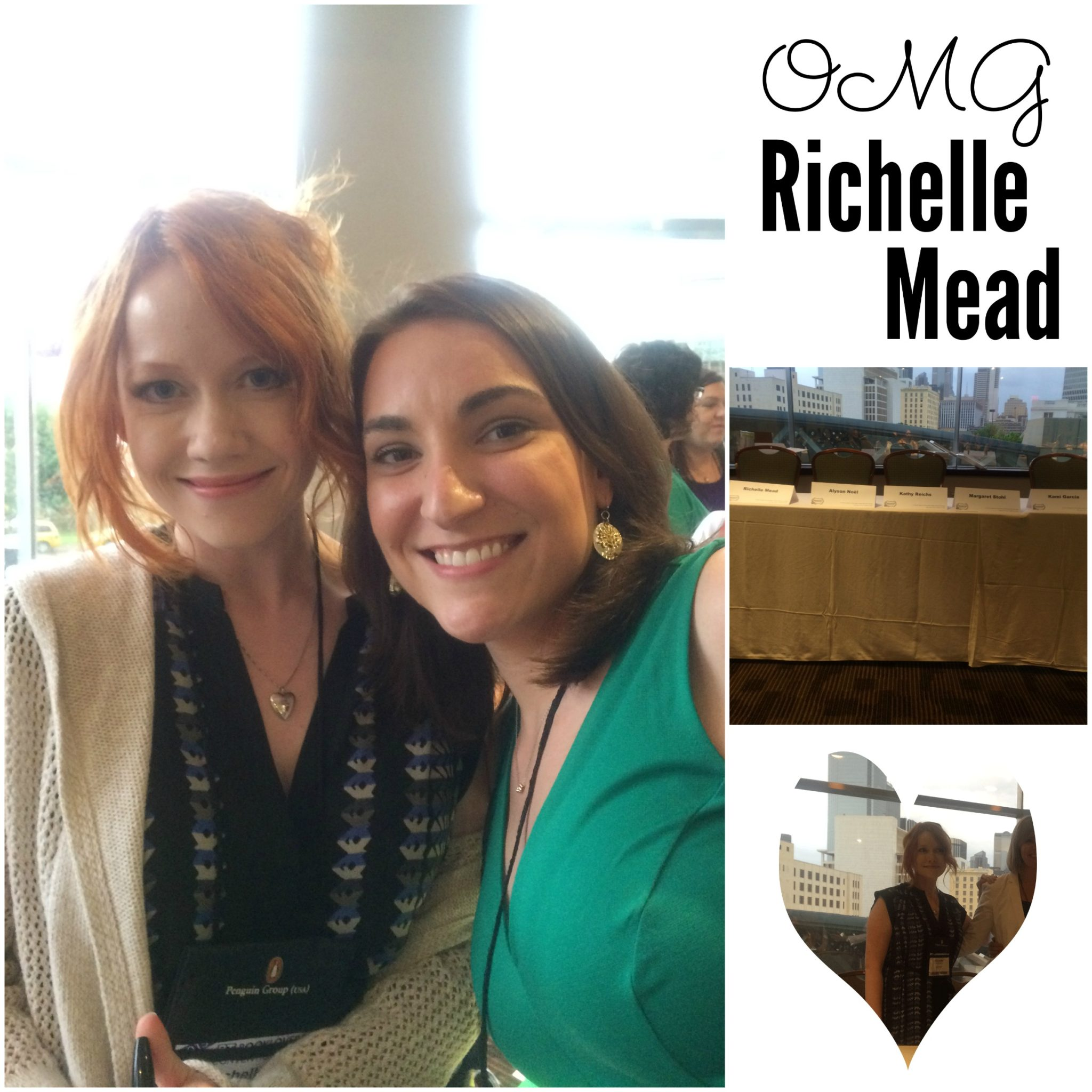 Richelle Mead and Megan RT 2015