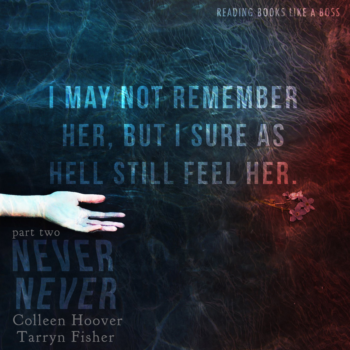 Never Never Part Two by Colleen Hoover and Tarryn Fisher