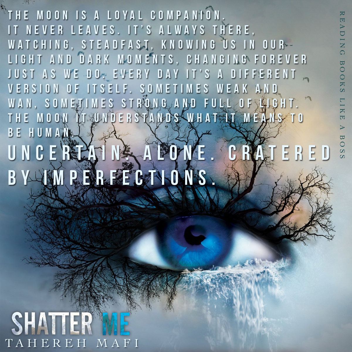 Shatter Me by Tahereh Mafi — Reading Books Like a Boss