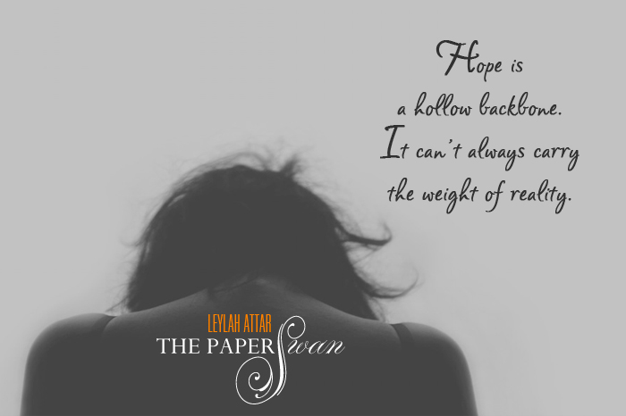 Teaser - The Paper Swan by Leylah Attar