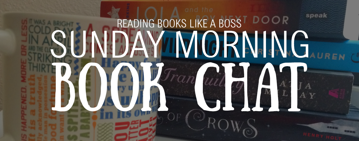 Sunday Morning Book Chat #6 — The Taylor Swift Book Tag & Blogging