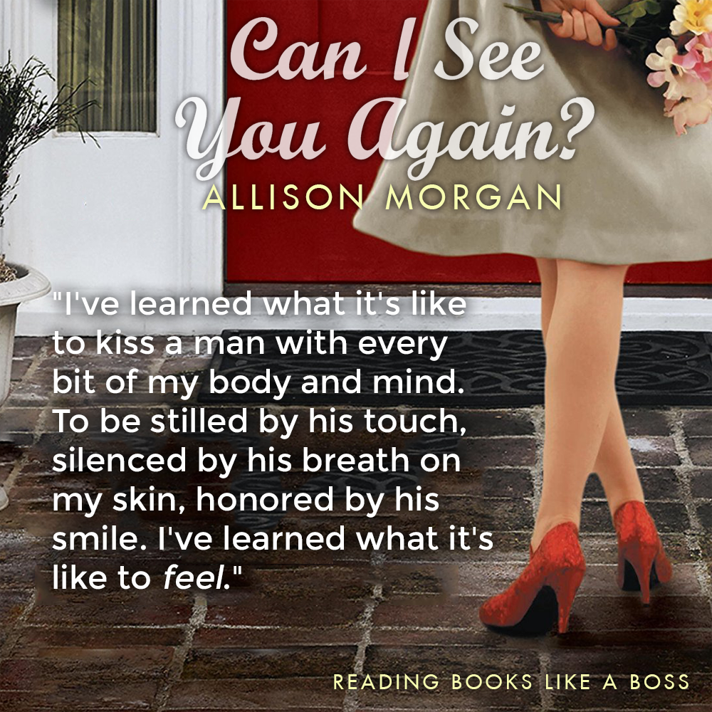 TEASER: Can I See You Again by Allison Morgan
