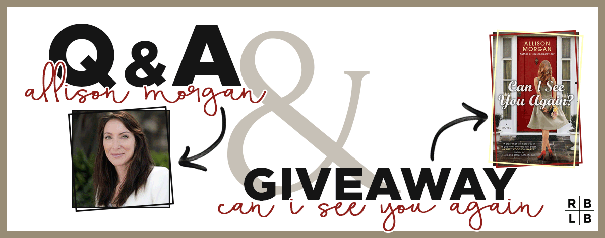 Q&A w/ Allison Morgan + Giveaway