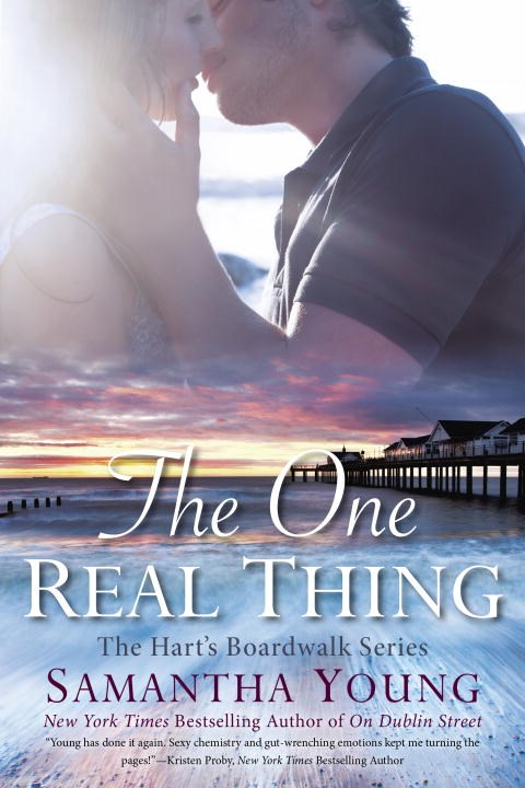 Cover: The One Real Thing by Samantha Young