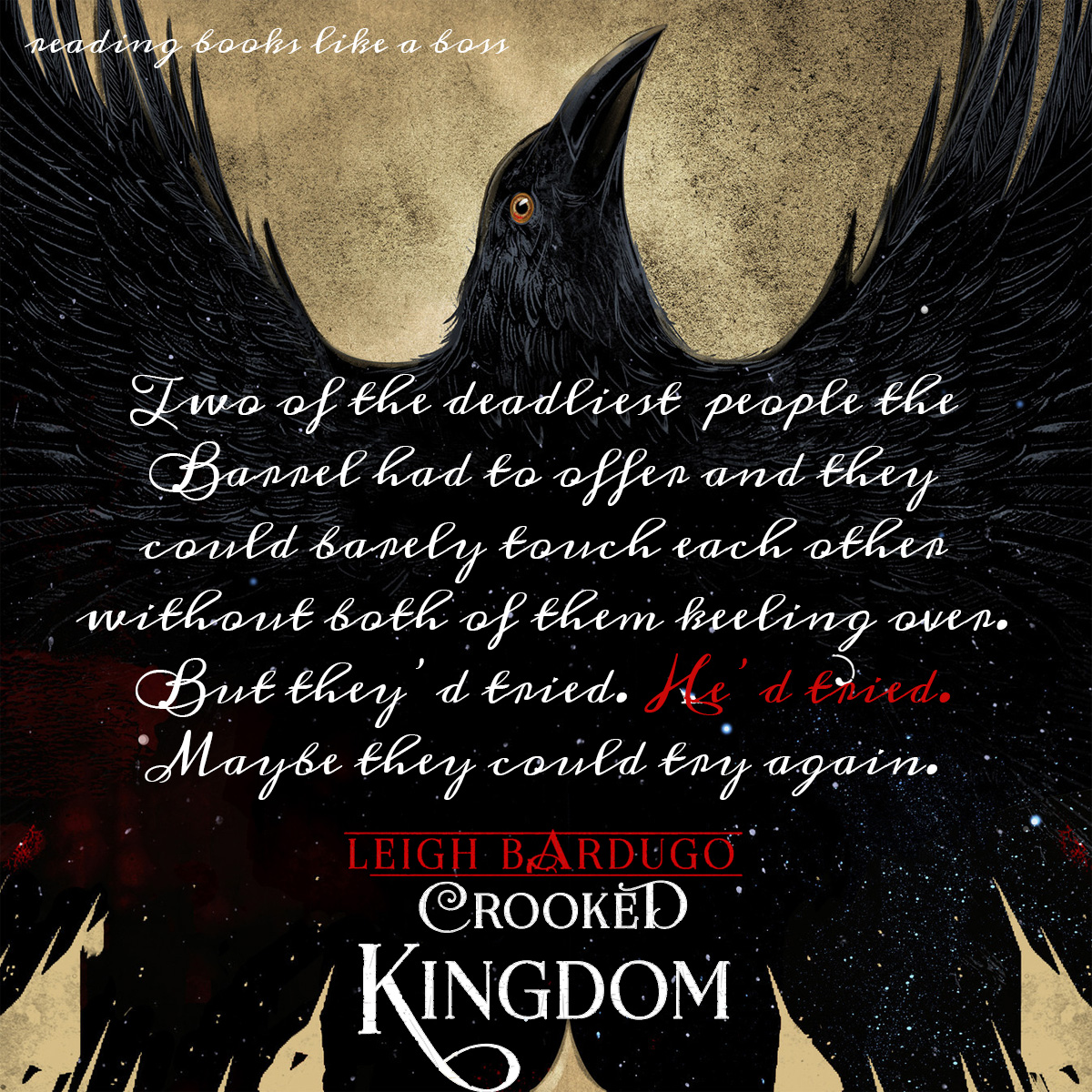 Teaser - Crooked Kingdom by Leigh Bardugo