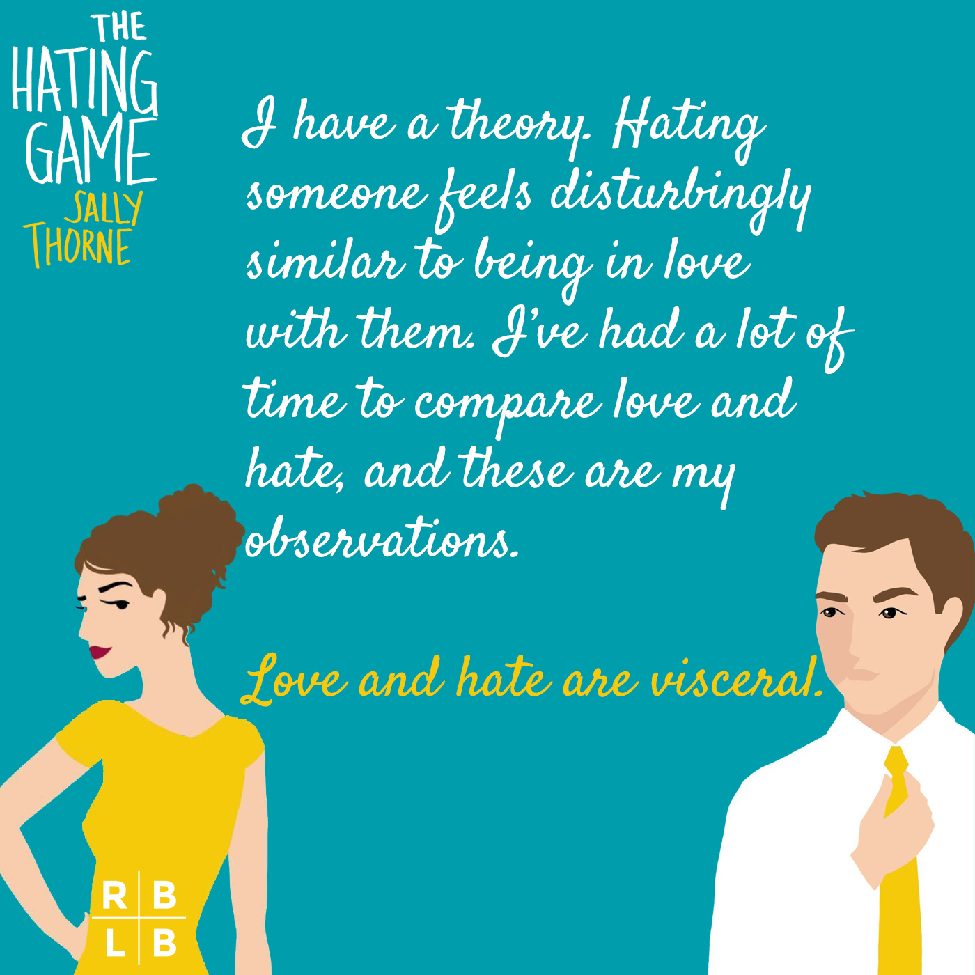 Teaser - The Hating Game by Sally Thorne