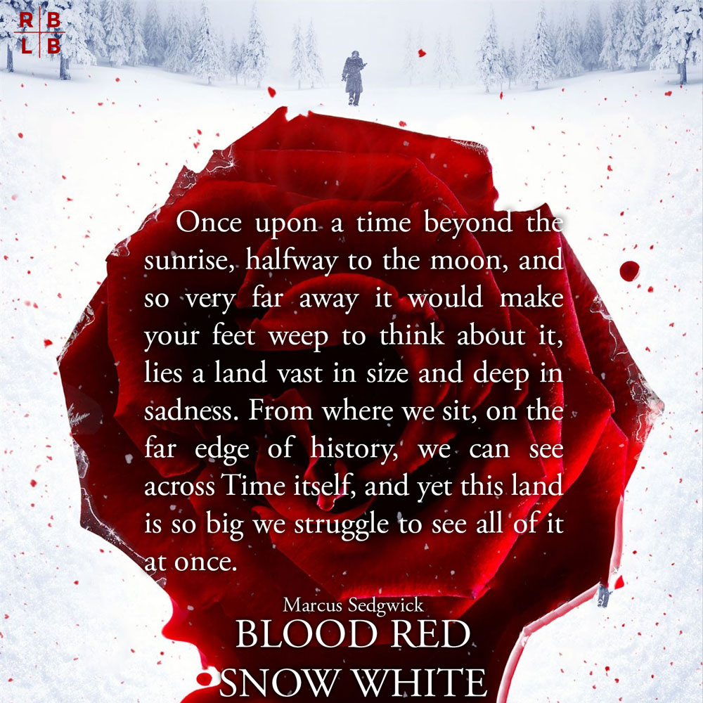 Teaser: Blood Red Snow White by Marcus Sedgwick