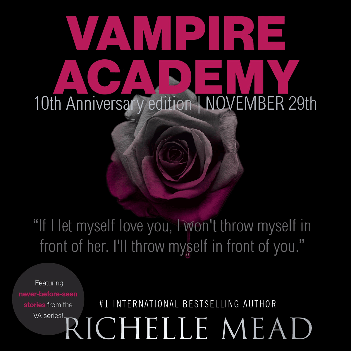Book of the Week - Vampire Academy by Richelle Mead