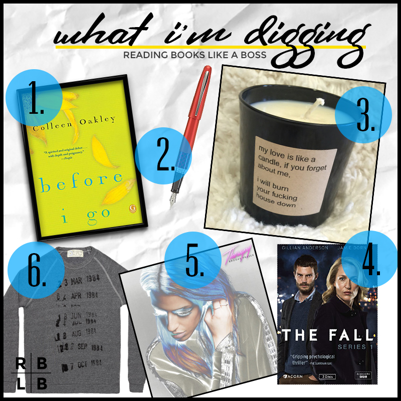 What I'm Digging: Before I Go by Colleen Oakley