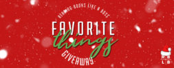 Favorite Things Giveaway – Win 3 AWESOME Young Adult Novels