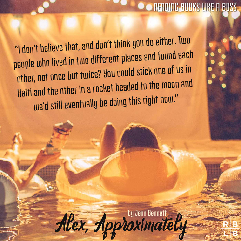 Teaser - Alex, Approximately by Jenn Bennett