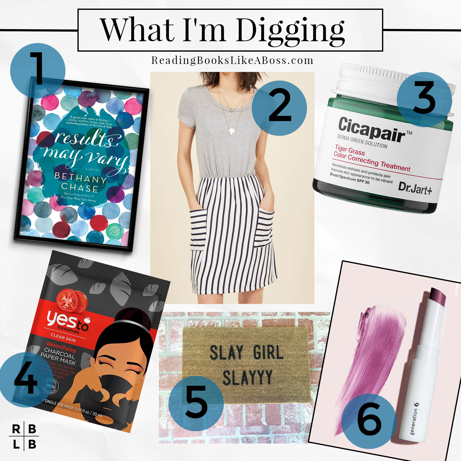 What I'm Digging — Results May Vary by Bethany Chase