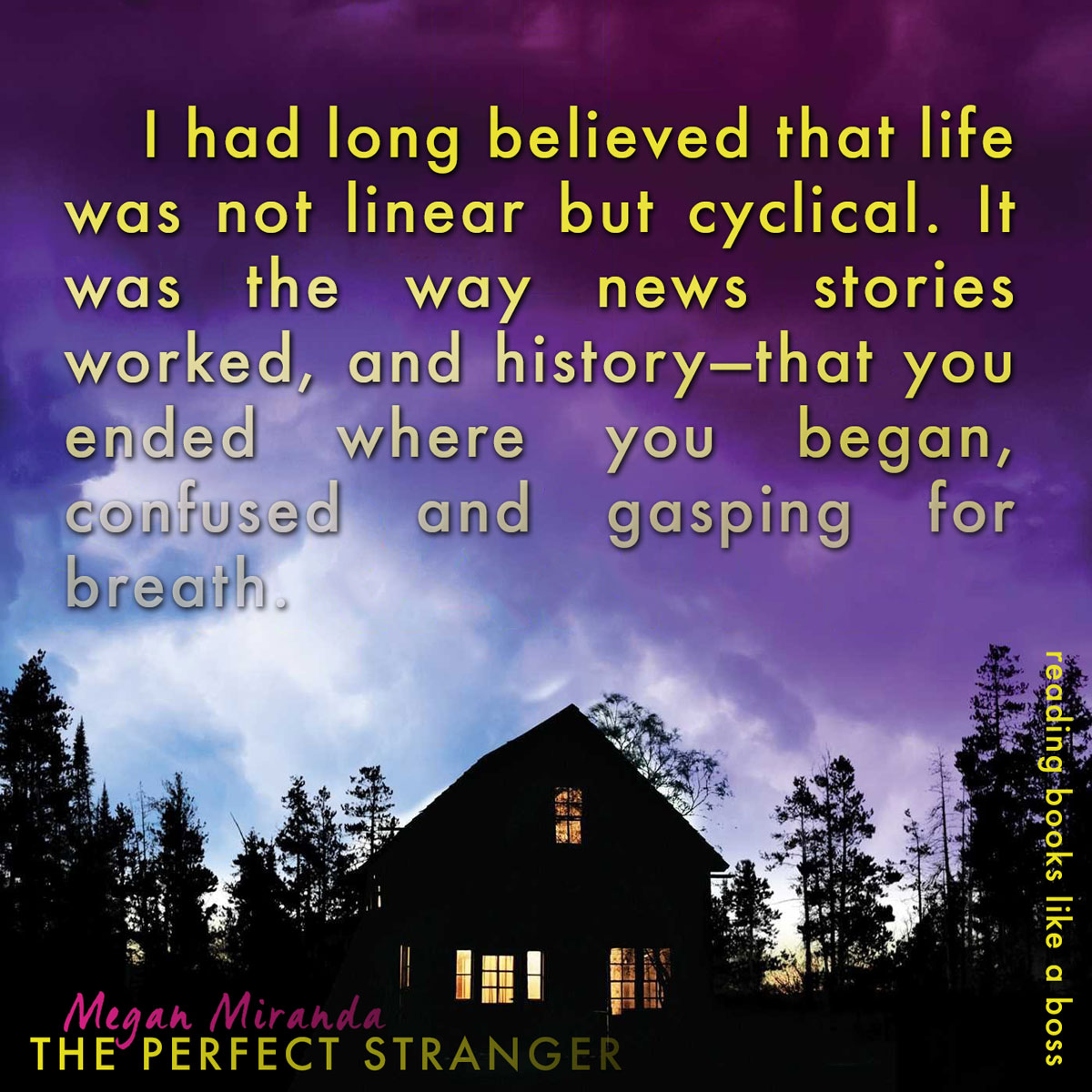 Teaser: The Perfect Stranger by Megan Miranda