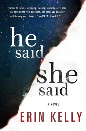 Book Review – He Said/She Said by Erin Kelly