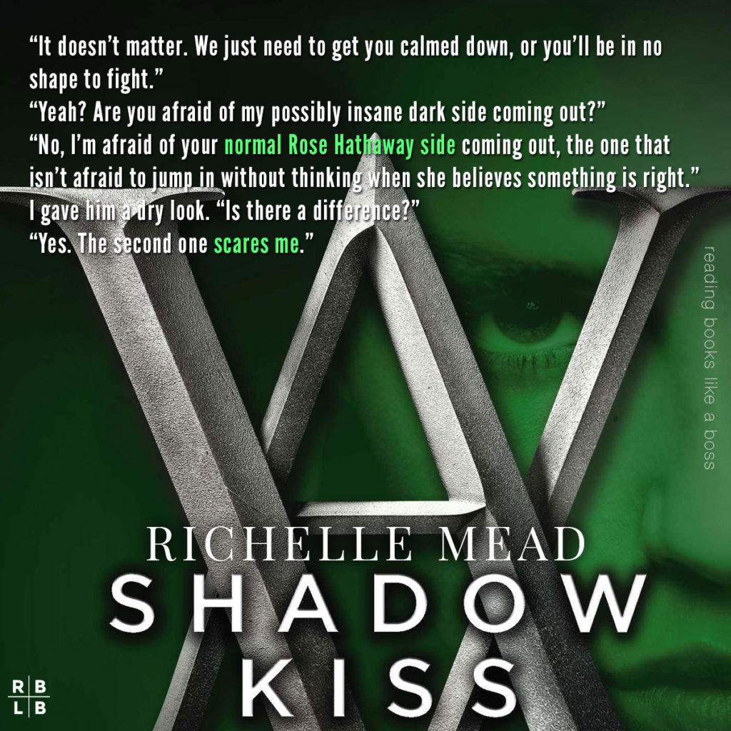 Review - Shadow Kiss by Richelle Mead