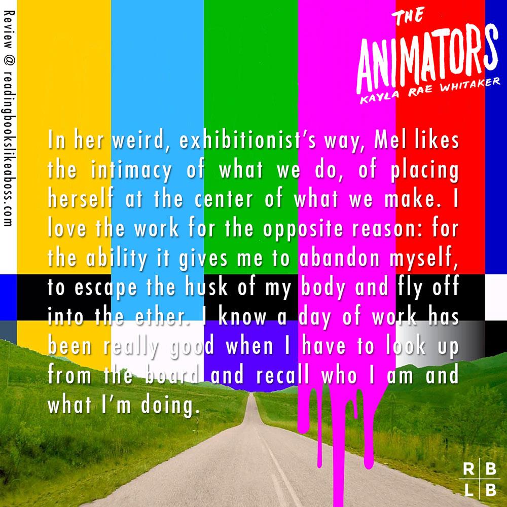 Review - The Animators by Kayla Rae Whitaker