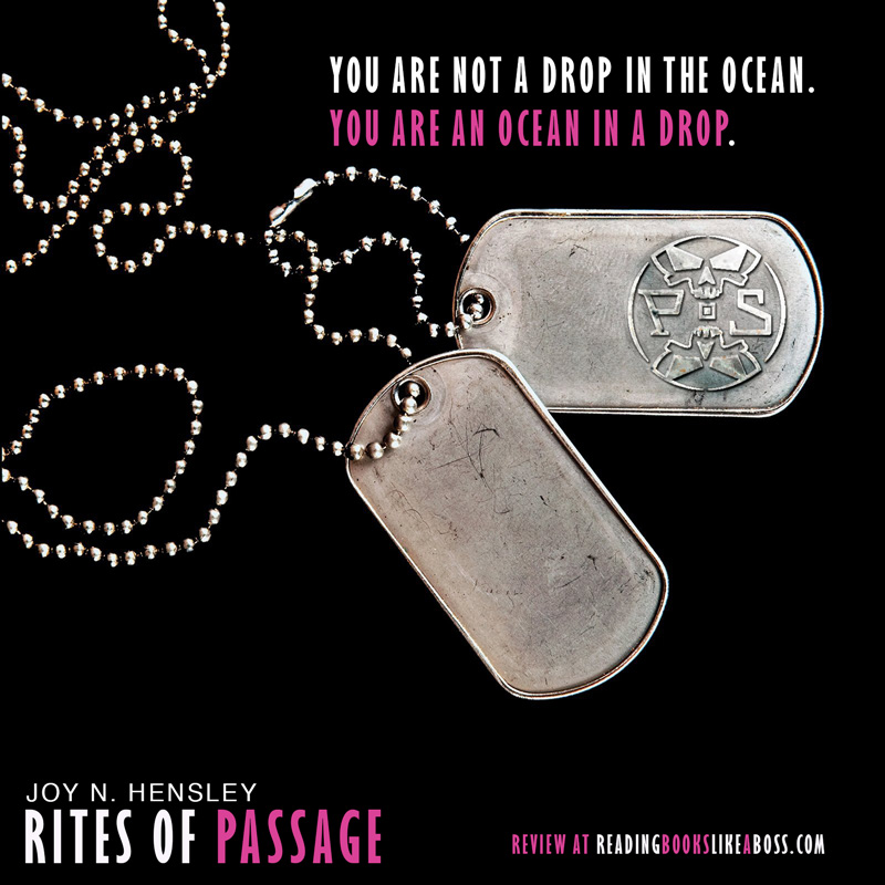 Review - Rites of Passage by Joy N. Hensley