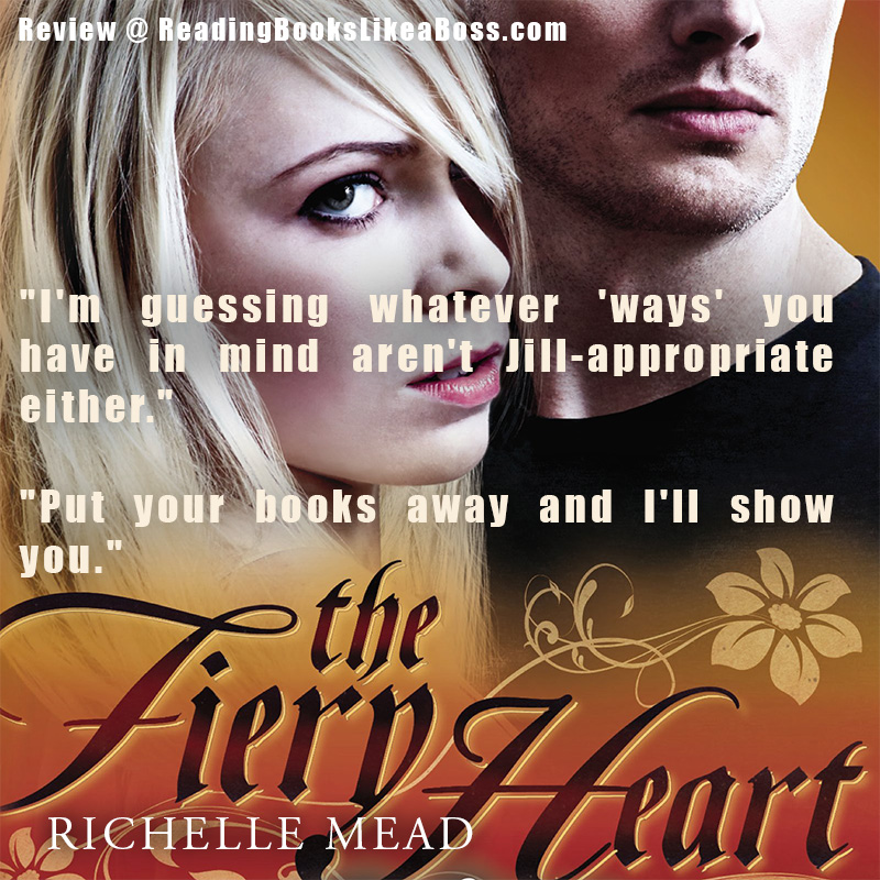 Teaser - The Fiery Heart by Richelle Mead