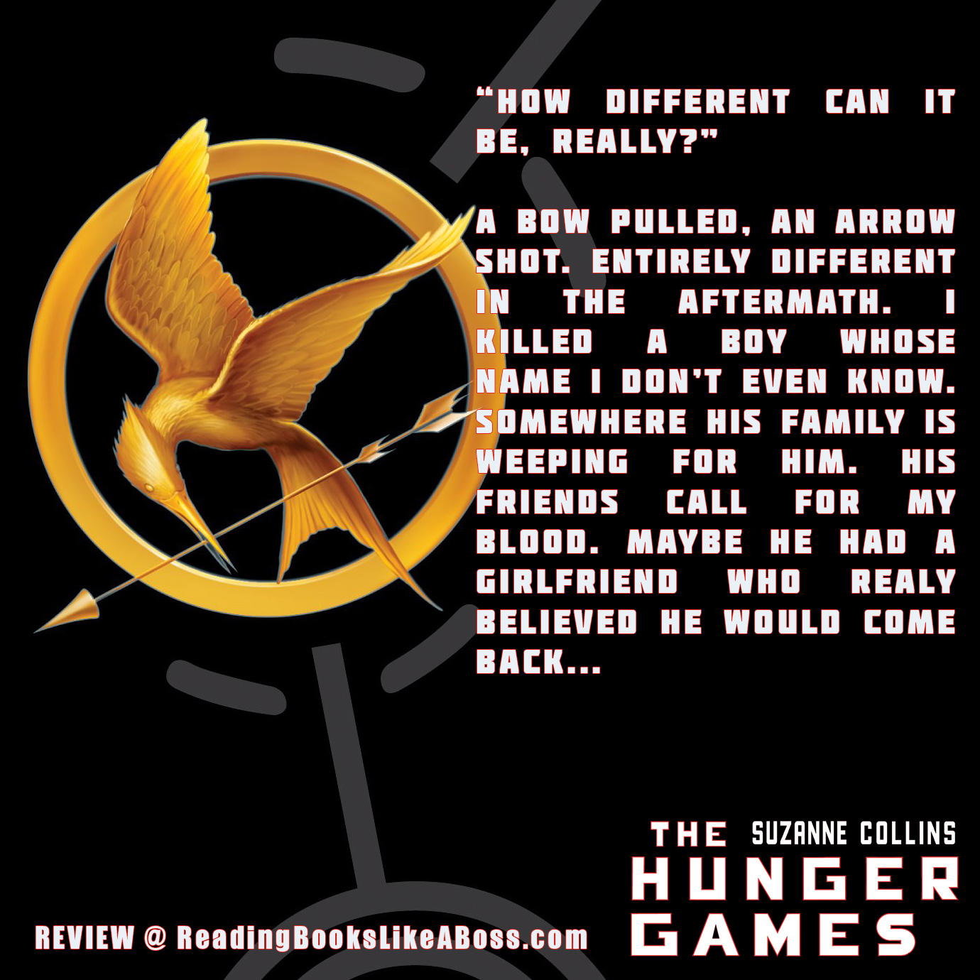 a review of hunger games by The hunger games: book summary and reviews of the hunger games by suzanne collins.