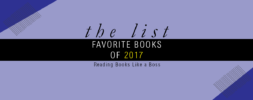 The List – Favorite Books of 2017 + Disappointments